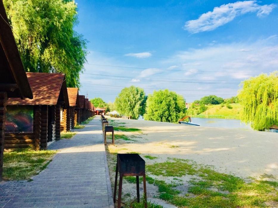 Пляж на озере Крючок (Крюковщина)